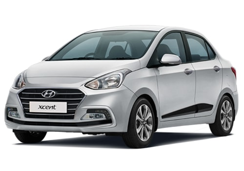 Hyundai Xcent Front High Angle View Picture