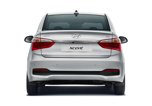 Hyundai Xcent Side View Picture
