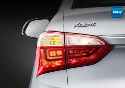 Hyundai Xcent Tail Light Exterior Picture