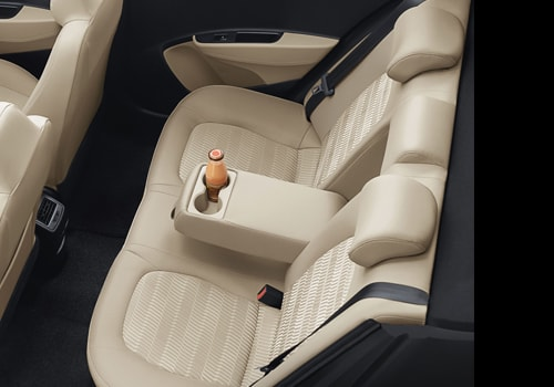 Hyundai Xcent Rear Seats Interior Picture