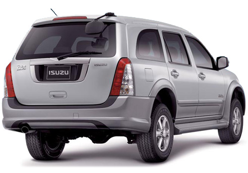 Isuzu MU 7 Rear Angle View Exterior Picture