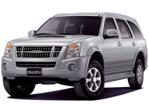 Isuzu MU 7 Front Angle View Exterior Picture