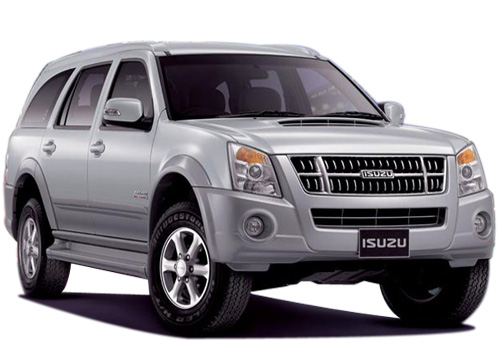 Isuzu MU 7 Front Low Angle View Exterior Picture