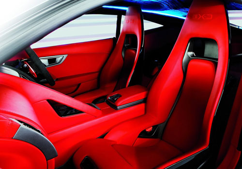 Jaguar C-X16 Front Seats Interior Picture