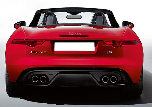Jaguar F Type Rear View Exterior Picture