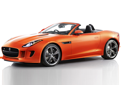 Jaguar F Type Front Angle Side View Exterior Picture