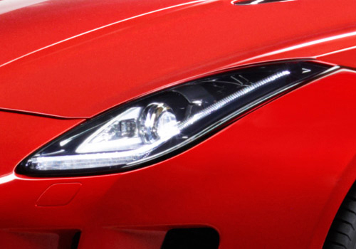 Jaguar F Type Headlight Exterior Picture
