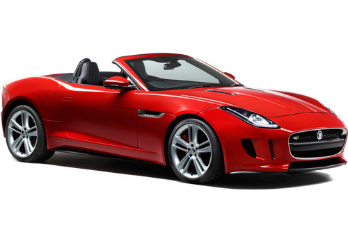 Jaguar F Type Front Low Angle View Exterior Picture