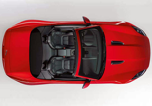 Jaguar F Type Top View Interior Picture