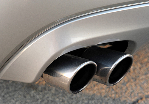 Jaguar XF Exhaust Pipe Exterior Picture