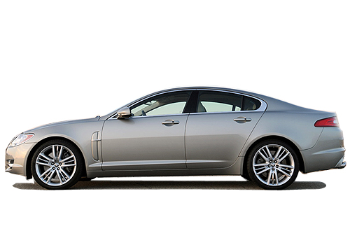 Jaguar XF Front Angle Side View Exterior Picture