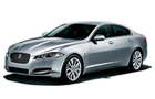 Jaguar XF Front Angle View Picture