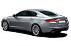 Jaguar XF Cross Side View Picture