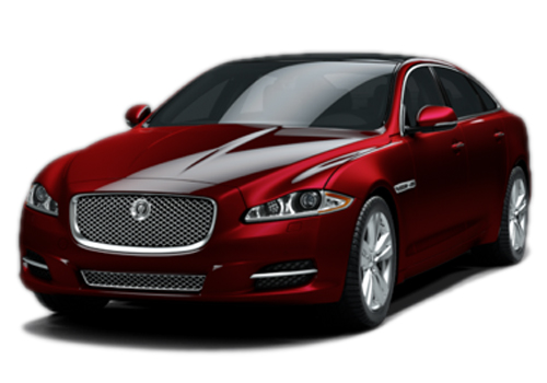 Jaguar XJ Front View Side Picture