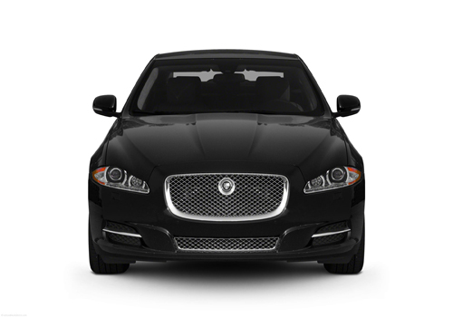 Jaguar XJ Front View Picture