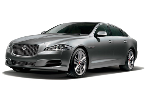 Jaguar XJ Front High Angle View Exterior Picture