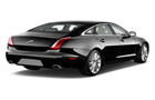 Jaguar XJ Rear Angle View Picture
