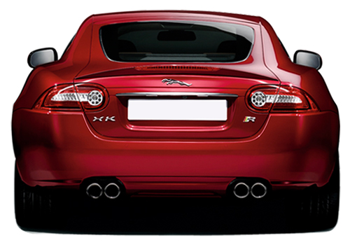 Jaguar XK Rear View Exterior Picture