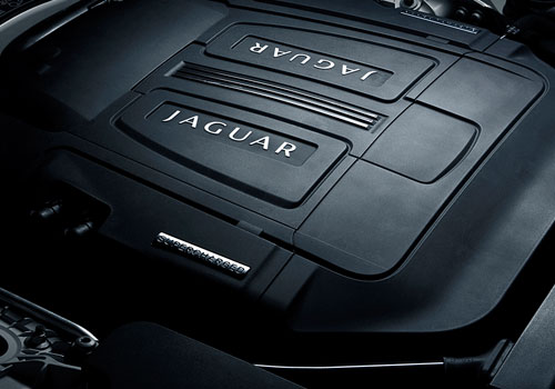 Jaguar XK Engine Interior Picture