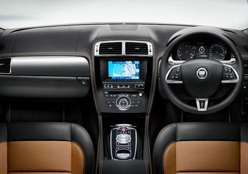 Jaguar XK Dashboard Interior Picture