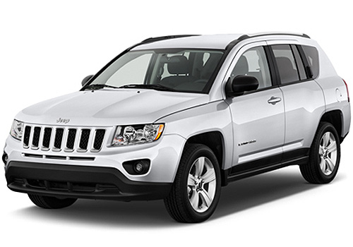 Jeep Compass Front Angle View Exterior Picture