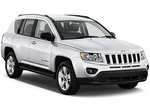 Jeep Compass Front Low Angle View Exterior Picture
