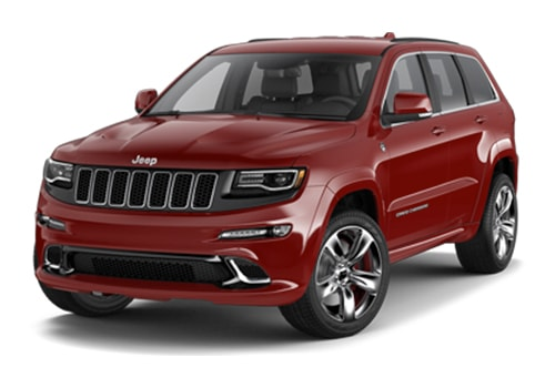 Jeep Grand Cherokee SRT Front Angle View Exterior Picture