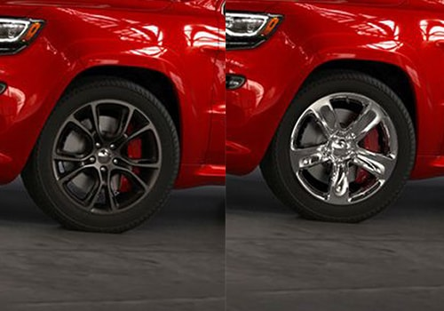 Jeep Grand Cherokee SRT Wheel and Tyre Exterior Picture