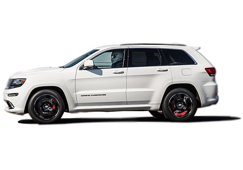 Jeep Grand Cherokee SRT Front Angle Side View Exterior Picture