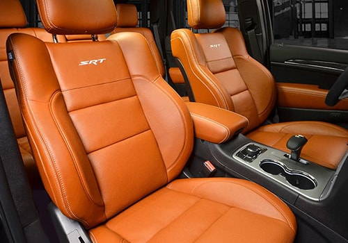 Jeep Grand Cherokee SRT Front Seats Interior Picture
