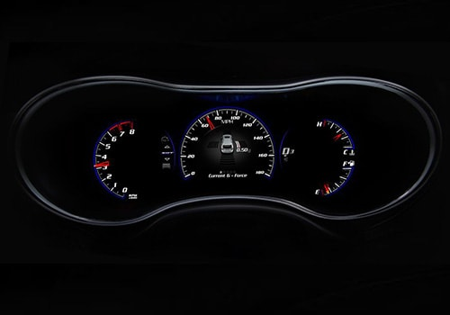 Jeep Grand Cherokee SRT Tachometer Interior Picture