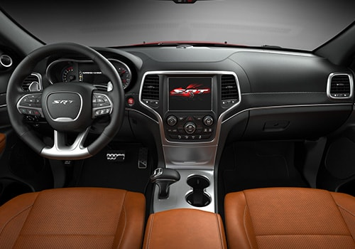 Jeep Grand Cherokee SRT Central Control Interior Picture