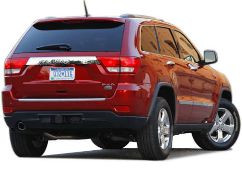Jeep Grand Cherokee Rear Angle View Exterior Picture