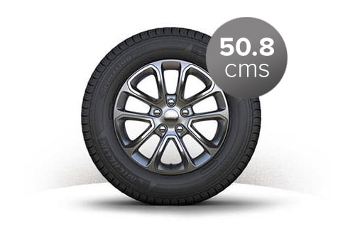 Jeep Grand Cherokee Wheel and Tyre Exterior Picture