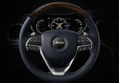 Jeep Grand Cherokee Steering Wheel Interior Picture