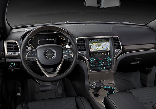 Jeep Grand Cherokee Central Control Interior Picture