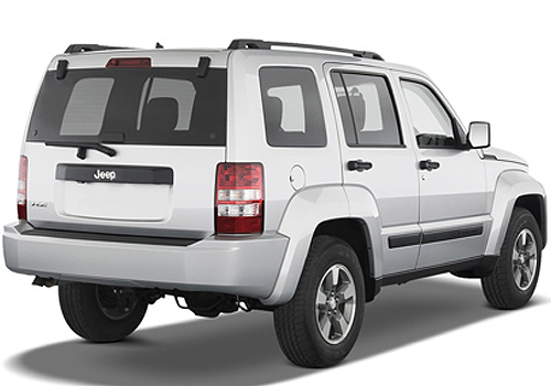 Jeep Liberty Rear Angle View Exterior Picture