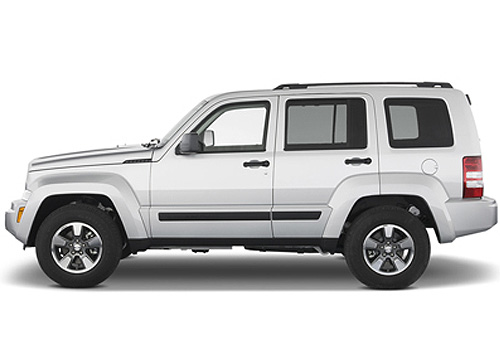 Jeep Liberty Front Angle Side View Exterior Picture