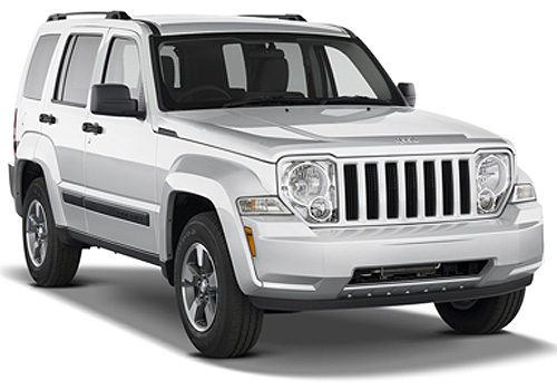 Jeep Liberty Front Low Angle View Exterior Picture