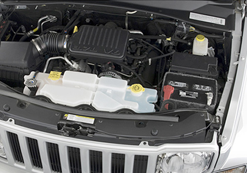 Jeep Liberty Engine Interior Picture