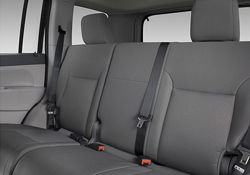 Jeep Liberty Rear Seats Interior Picture