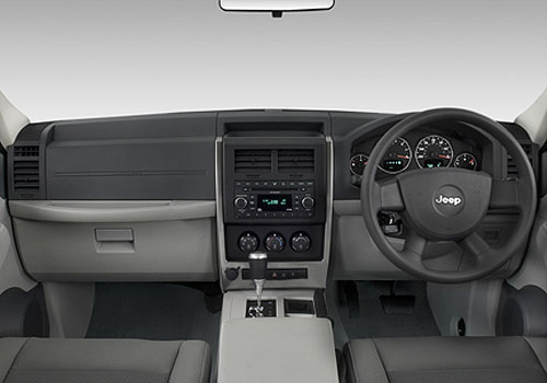 Jeep Liberty Dashboard Interior Picture