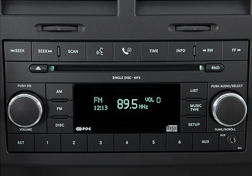 Jeep Liberty Stereo Interior Picture