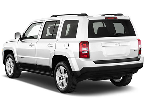 Jeep Patriot Cross Side View Exterior Picture