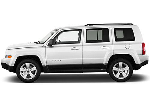 Jeep Patriot Front Angle Side View Exterior Picture