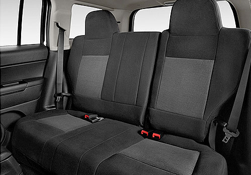 Jeep Patriot Rear Seats Interior Picture