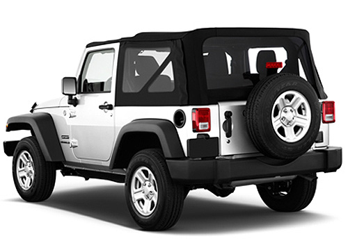 Jeep Wrangler Cross Side View Exterior Picture