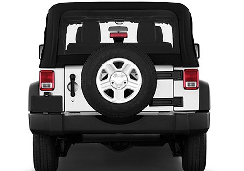 Jeep Wrangler Rear View Exterior Picture