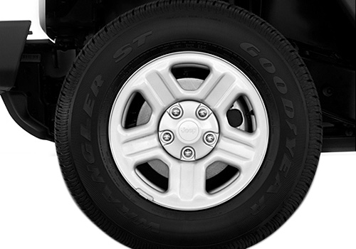 Jeep Wrangler Wheel and Tyre Exterior Picture