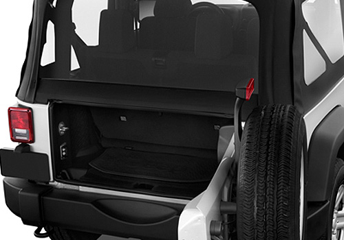 Jeep Wrangler Boot Open Interior Picture